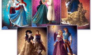 Disney Fairytale Couples Designer Collection