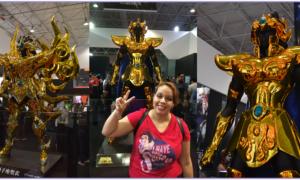 Cavaleiros do Zodíaco na Comic Con Experience