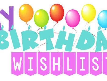 Wishlist: Aniversário 2017